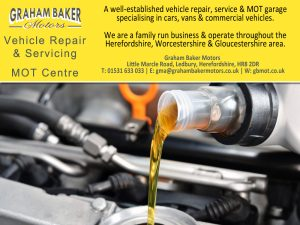 Vehicle Repair and Servicing