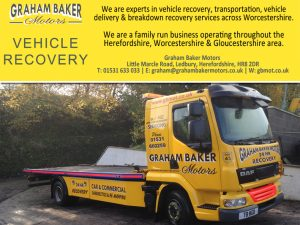Vehicle Recovery In Worcestershire